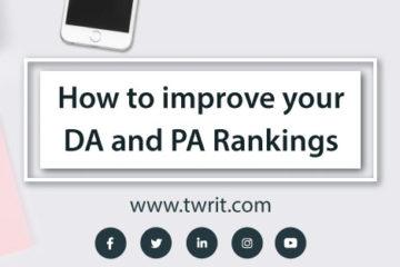 Improve Website DA and PA ranking